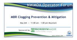 Online Training - Operator Forum<br>MBR Clogging Prevention & Mitigation