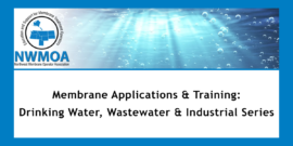 Online Training<br>Membrane Applications & Training: Industrial, Wastewater & Drinking Water - Part 2